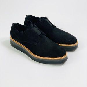 VINCE Davy Suede Platform Oxford Shoe